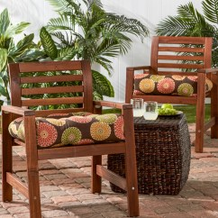 Outdoor Patio Chair Cushions Hanging Jute Greendale Home Fashions Dining Cushion Wayfair