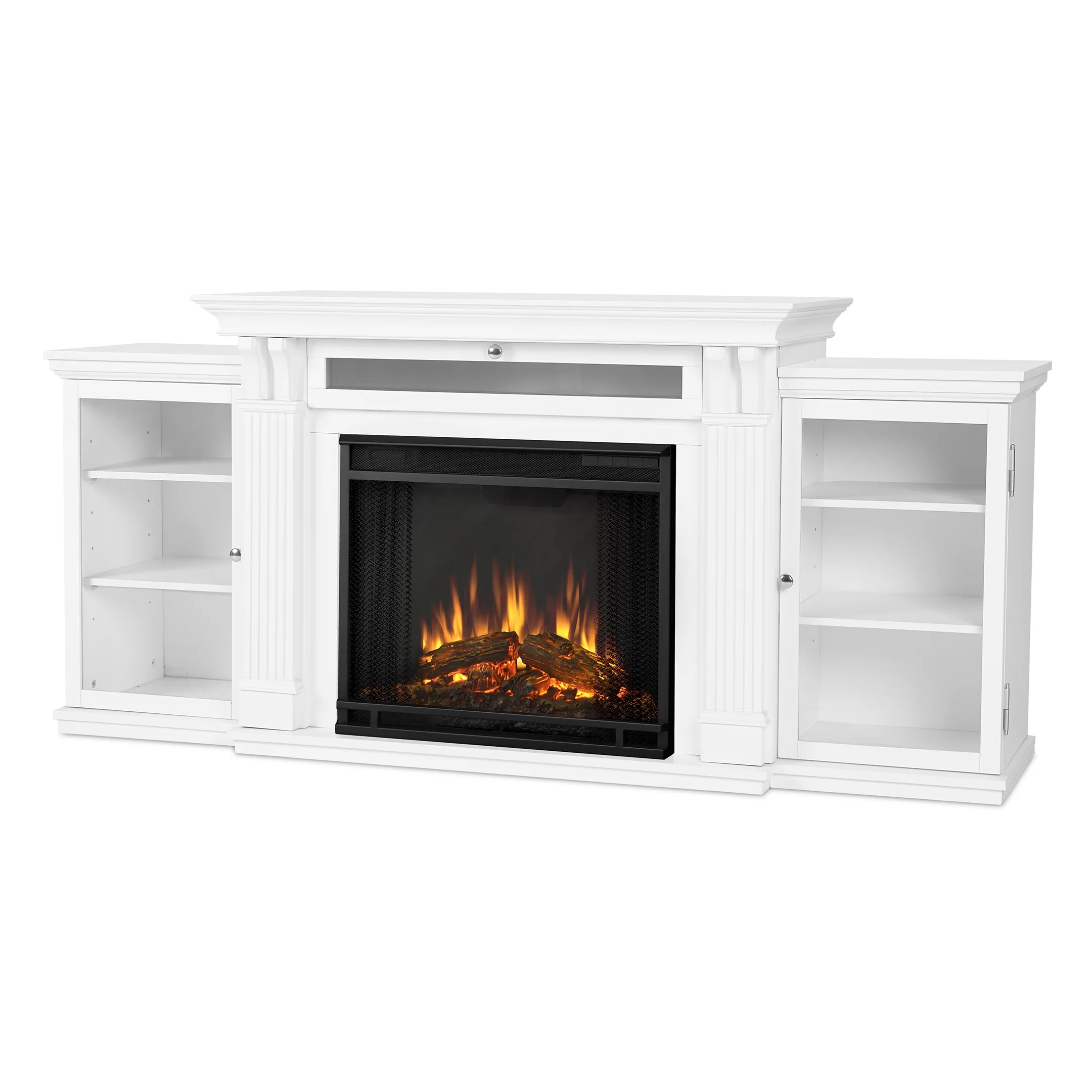 Electric Fireplace Reviews Real Flame Calie Electric Fireplace & Reviews | Wayfair