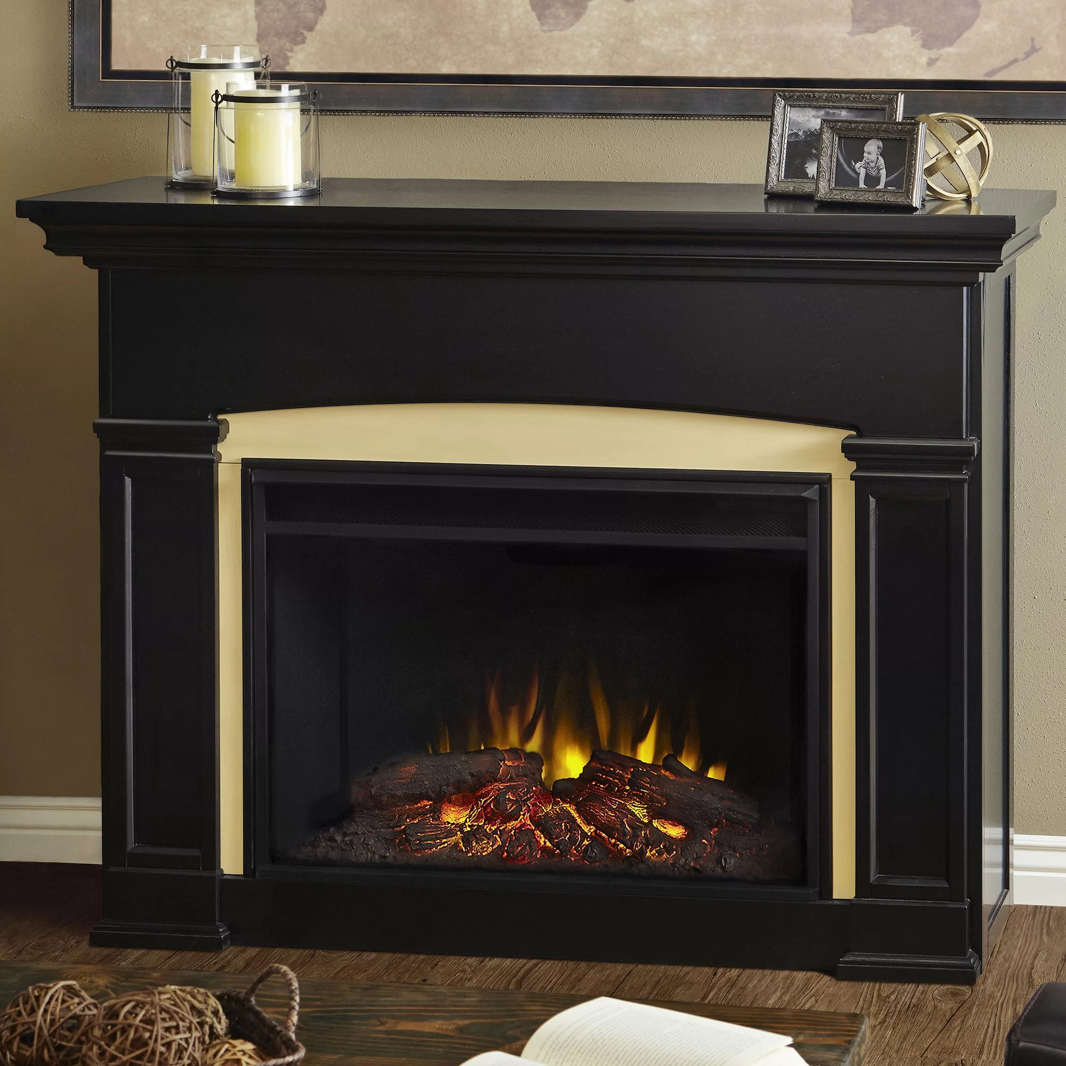 Real Flame Holbrook Grand Electric Fireplace Amp Reviews