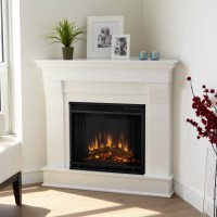 Real Flame Chateau Corner Electric Fireplace & Reviews ...