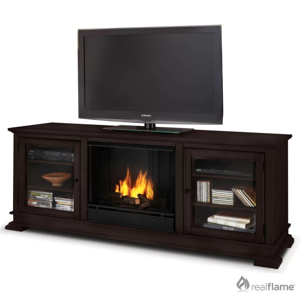Real Flame Hudson Ventless Tv Stand With Electric