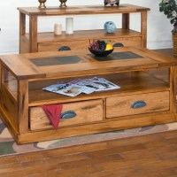 Sunny Designs Sedona Coffee Table with Caster & Reviews ...