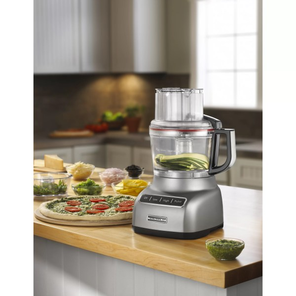 Kitchenaid 9 Cup Food Processor With Exactslice System &
