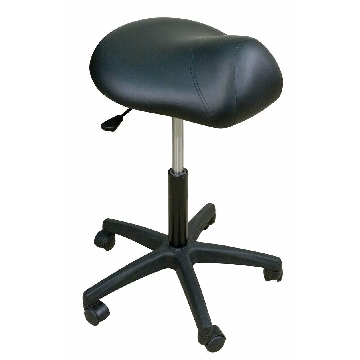 Saddle Chairs Oakworks Height Adjustable Premium Saddle Stool And Reviews