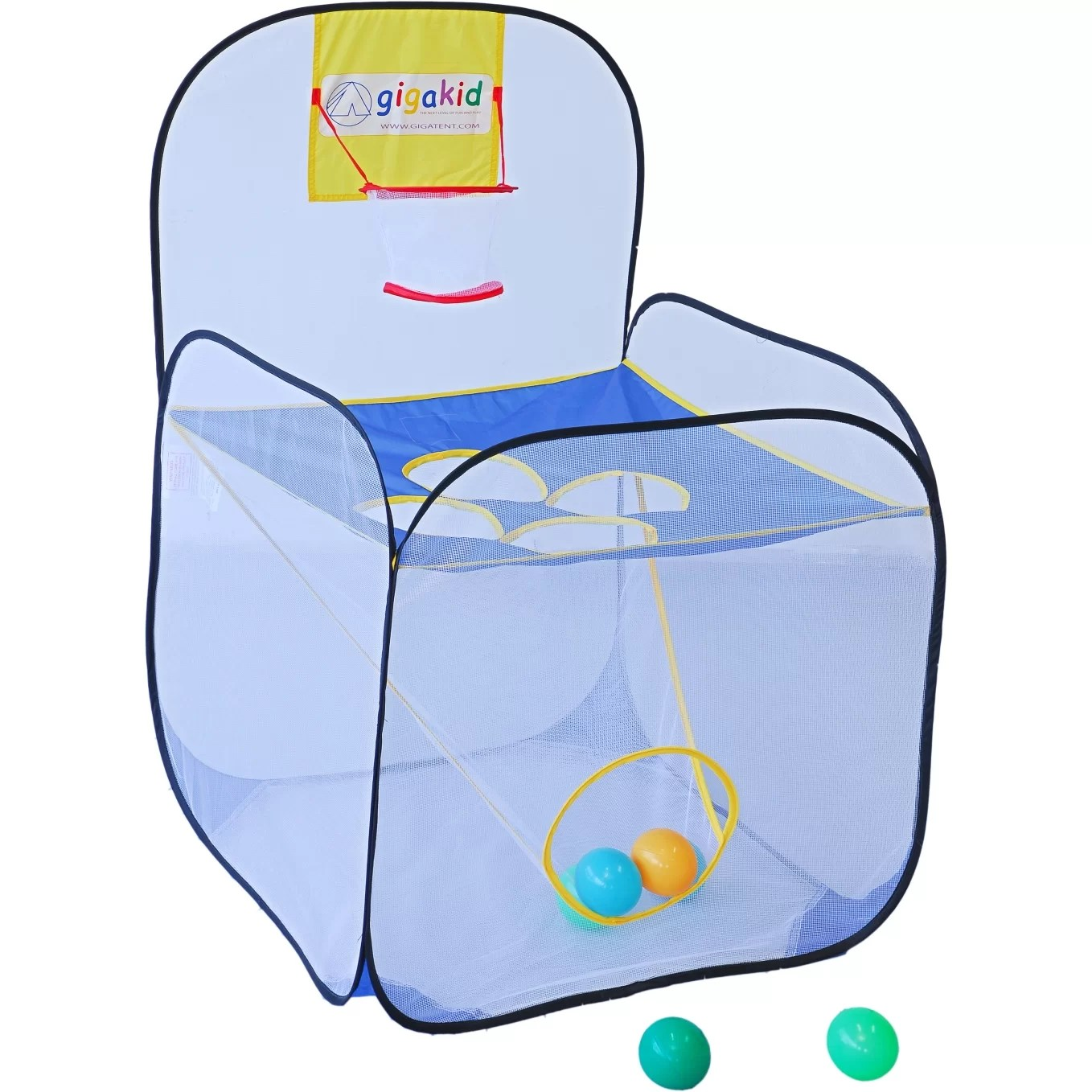 children s pop up chairs big and tall computer gigatent toss it game kids play tent reviews