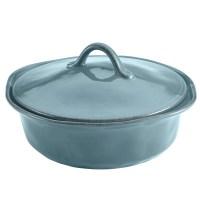 Rachael Ray Cucina 3 Piece Stoneware Round Casserole Set ...