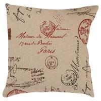 Pillow Perfect French Postale Throw Pillow & Reviews | Wayfair