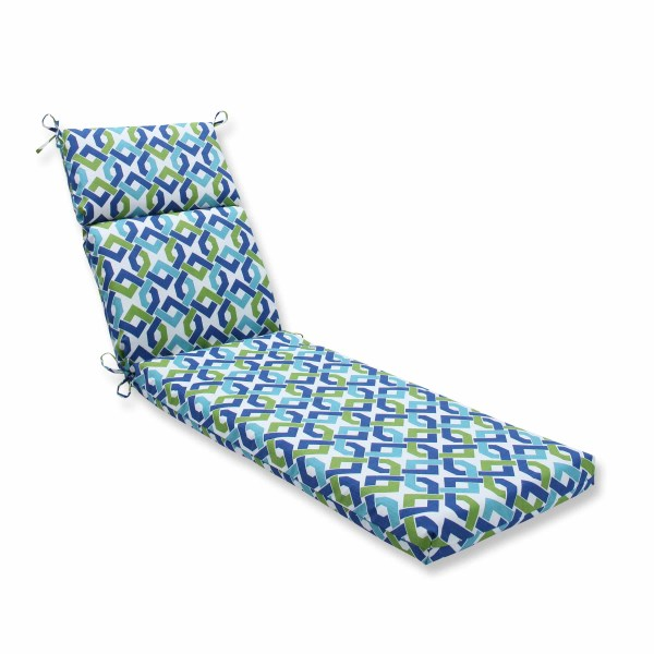 Pillow Perfect Reiser Outdoor Chaise Lounge Cushion
