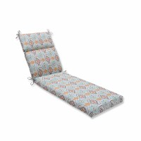 Pillow Perfect Eresha Oasis Outdoor Chaise Lounge Cushion ...