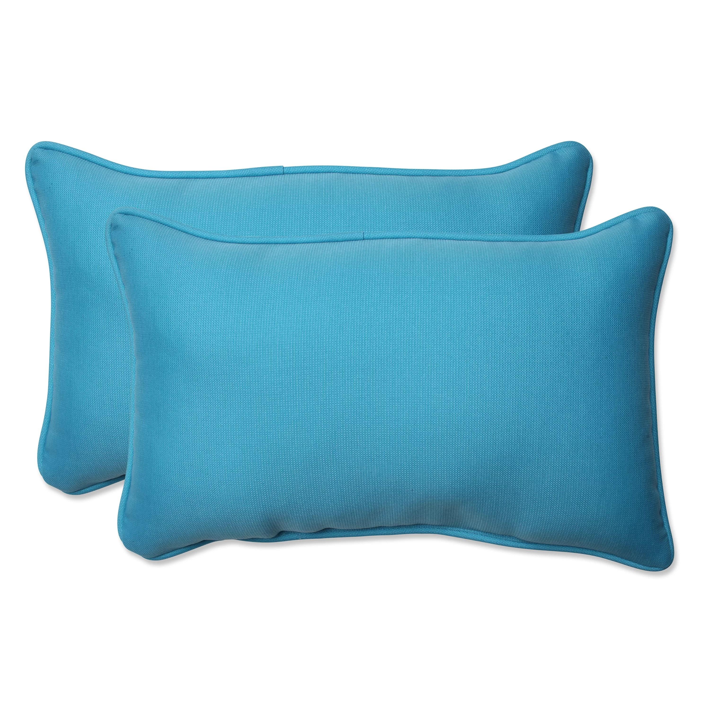 Pillow Perfect Veranda IndoorOutdoor Lumbar Pillow