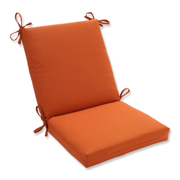 Pillow Perfect Cinnabar Outdoor Chair Cushion &