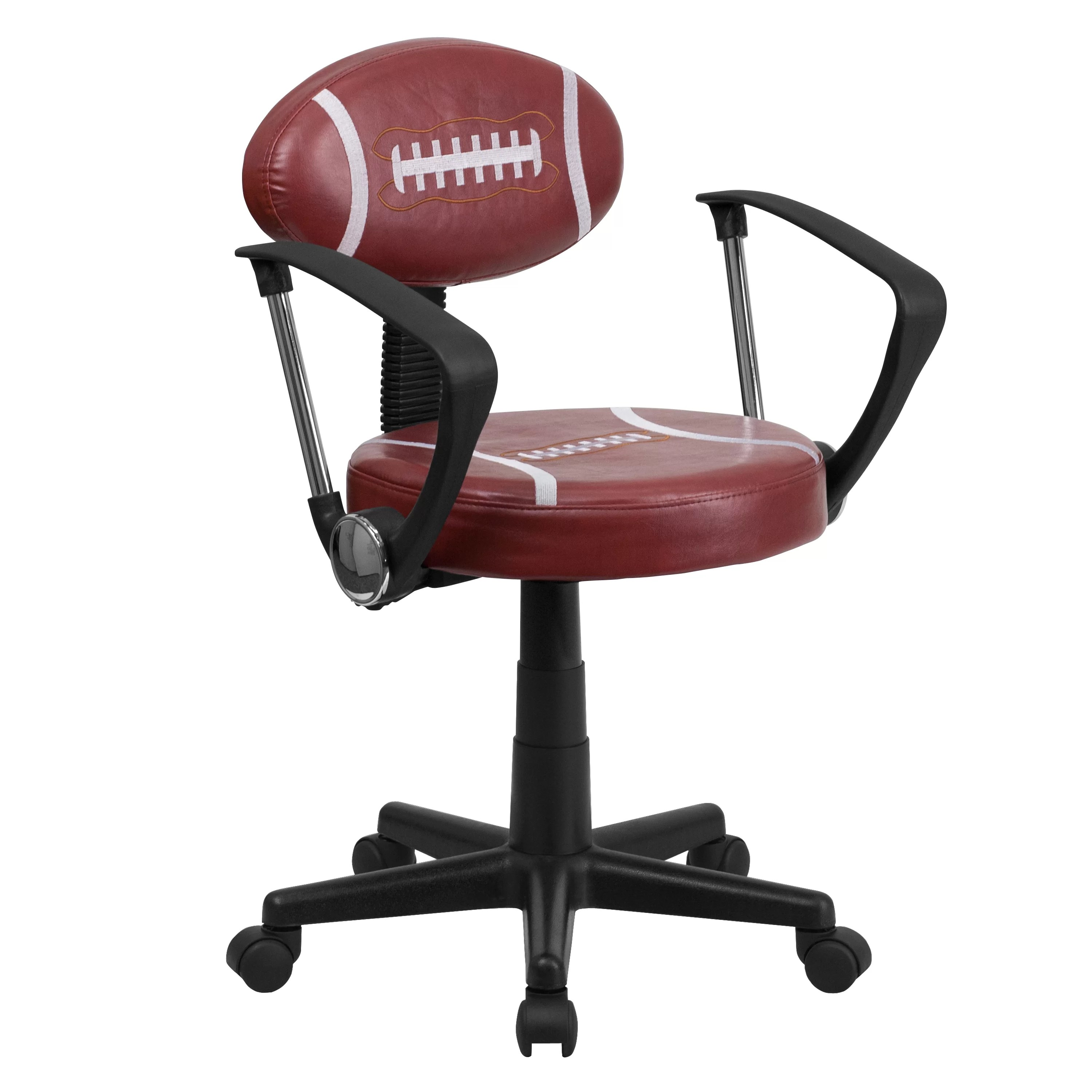 Flash Furniture Football Task Chair with Arms & Reviews