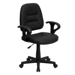 Leather Desk Chairs Target Computer Flash Furniture Ergonomic Chair And Reviews