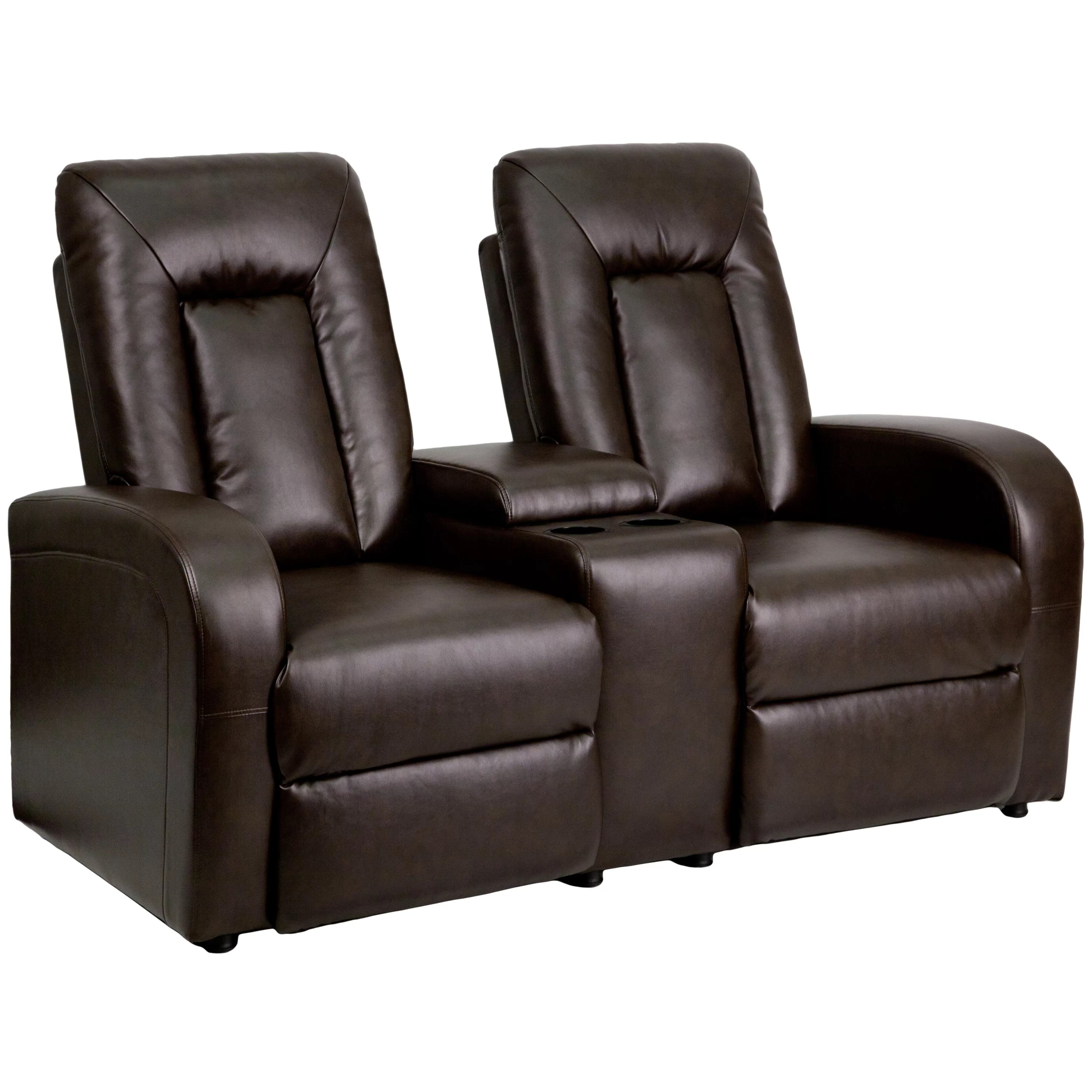 theater recliner chairs chair covers brisbane flash furniture leather 2 seat home with