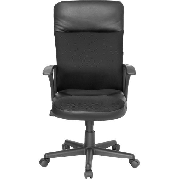 flash furniture high back executive leather office chair Flash Furniture High-Back Leather Executive Chair & Reviews   Wayfair