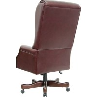 Flash Furniture Leather Executive Chair & Reviews ...