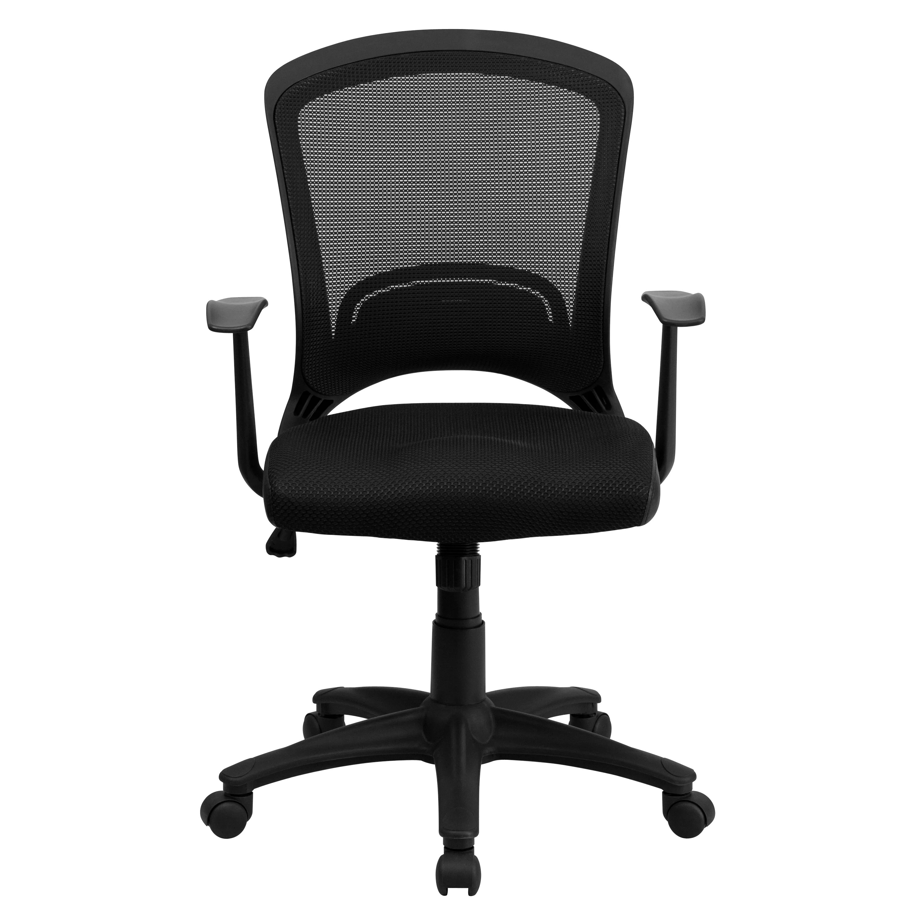 Padded Chair Flash Furniture Mesh Office Chair With Padded Seat