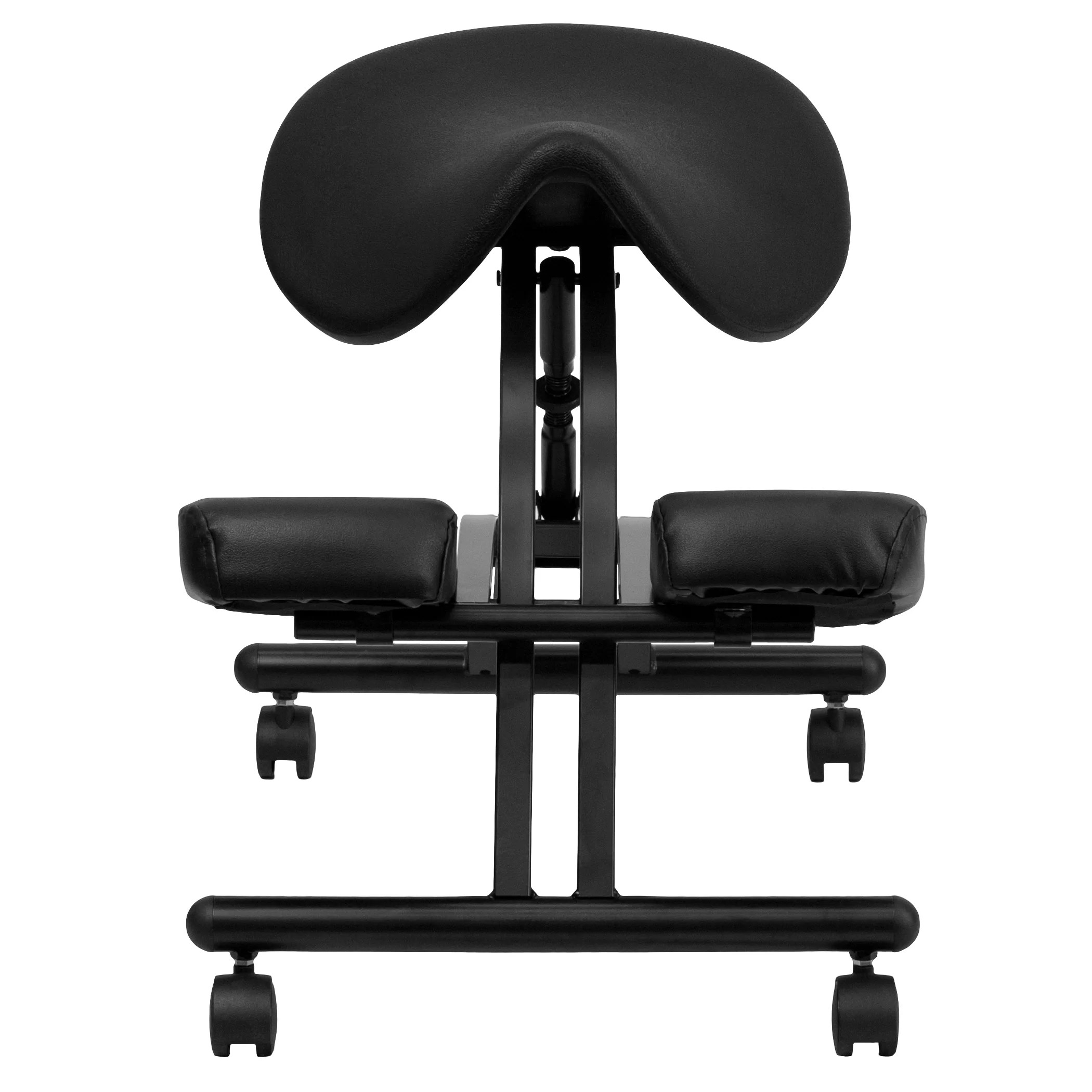 Ergonomic Chair Kneeling Flash Furniture Ergonomic Kneeling Chair And Reviews Wayfair