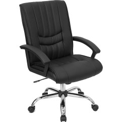 Wayfair Office Chairs Hair Salon Flash Furniture Mid Back Leather Managers Chair
