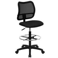 Adjustable Drafting Chair Inversion Benefits Flash Furniture Height Stool With