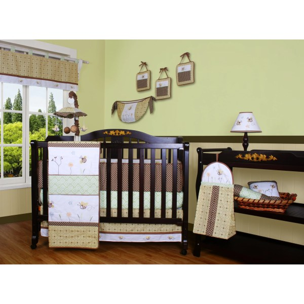 Geenny Boutique Bumble Bee 13 Piece Crib Bedding Set &