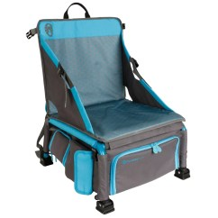 Coleman Max Camping Chair Grey Leather Dining Chairs Uk Treklite Plus Coolerpack With Cushion Wayfair