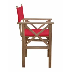 Teak Shower Chairs With Arms Desk Chair Arm Pads Anderson Director Folding Wayfair