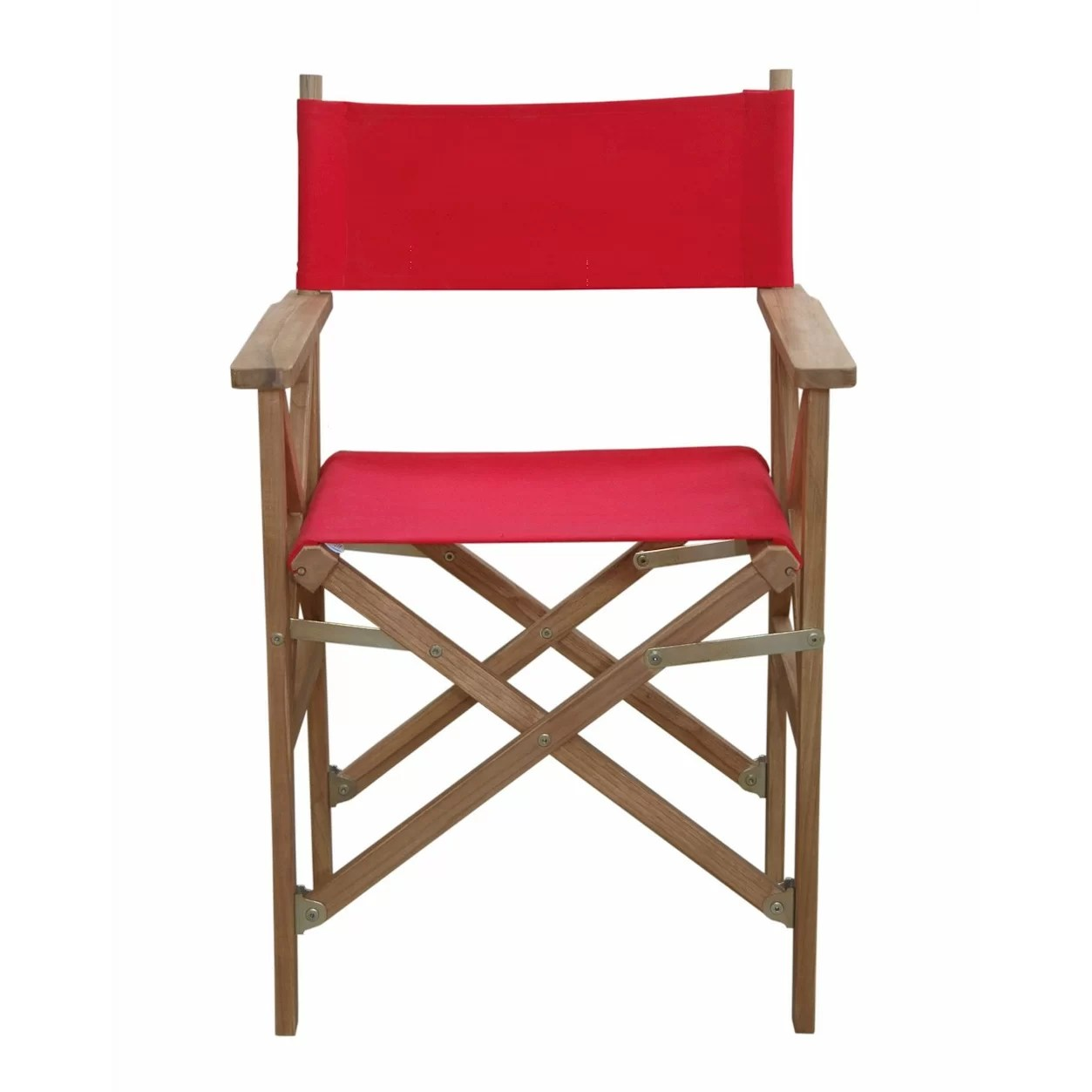 Folding Arm Chair Anderson Teak Director Folding Arm Chair Wayfair