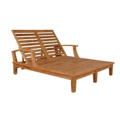 Teak Chaise Lounge Chairs Sale Golden Technology Lift Chair Anderson Brianna Double And Reviews Wayfair