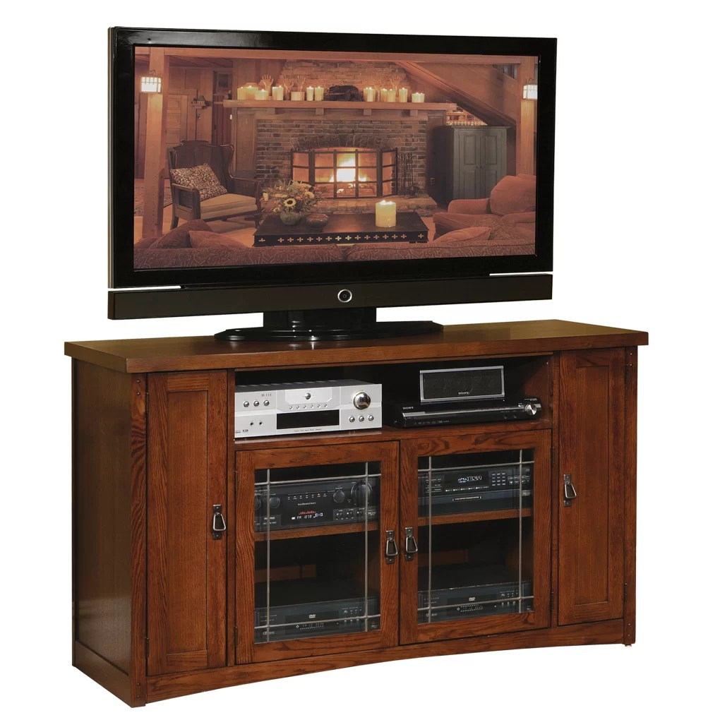 Martin Home Furnishings Mission Pasadena Tall TV Stand  Reviews  Wayfair
