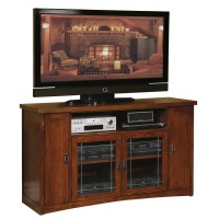 Martin Home Furnishings Mission Pasadena Tall TV Stand ...