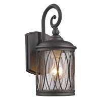Chloe Lighting Dinadan 1 Light Outdoor Wall Lantern ...