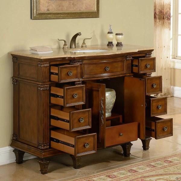 48 Single Sink Bathroom Vanity Cabinets