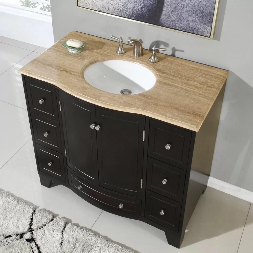Silkroad Exclusive Merrimack 40 Single Bathroom Vanity