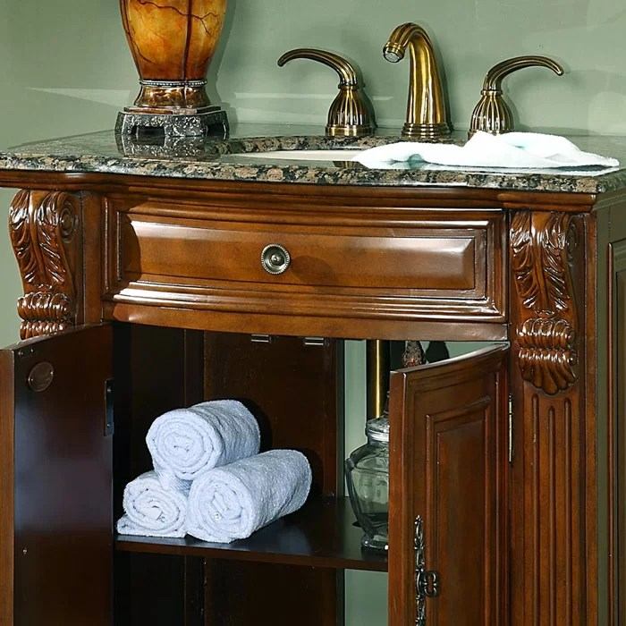 Silkroad Exclusive Charlotte 33 Single Bathroom Vanity Set  Reviews  Wayfair