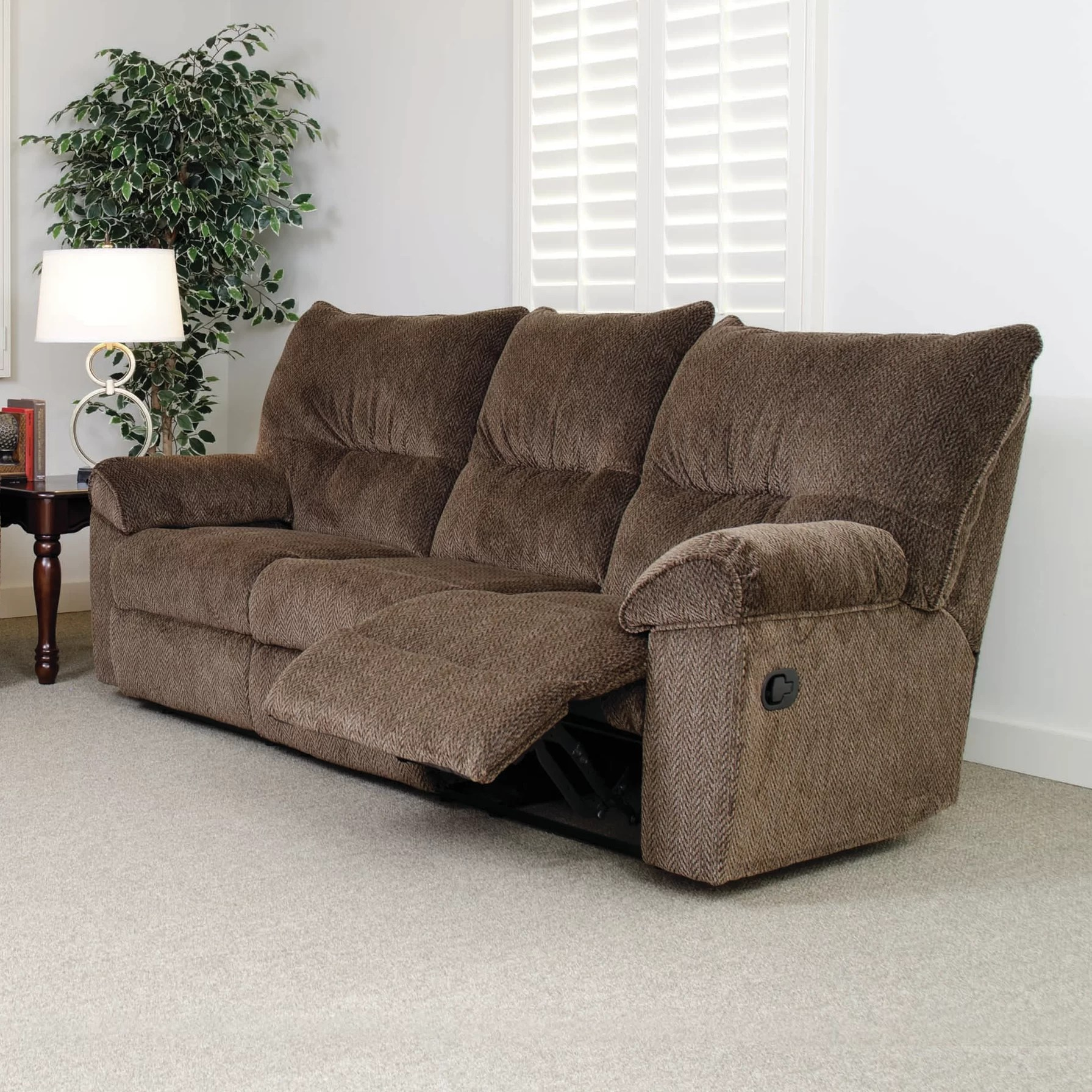 Serta Upholstery Double Reclining Sofa  Reviews  Wayfair