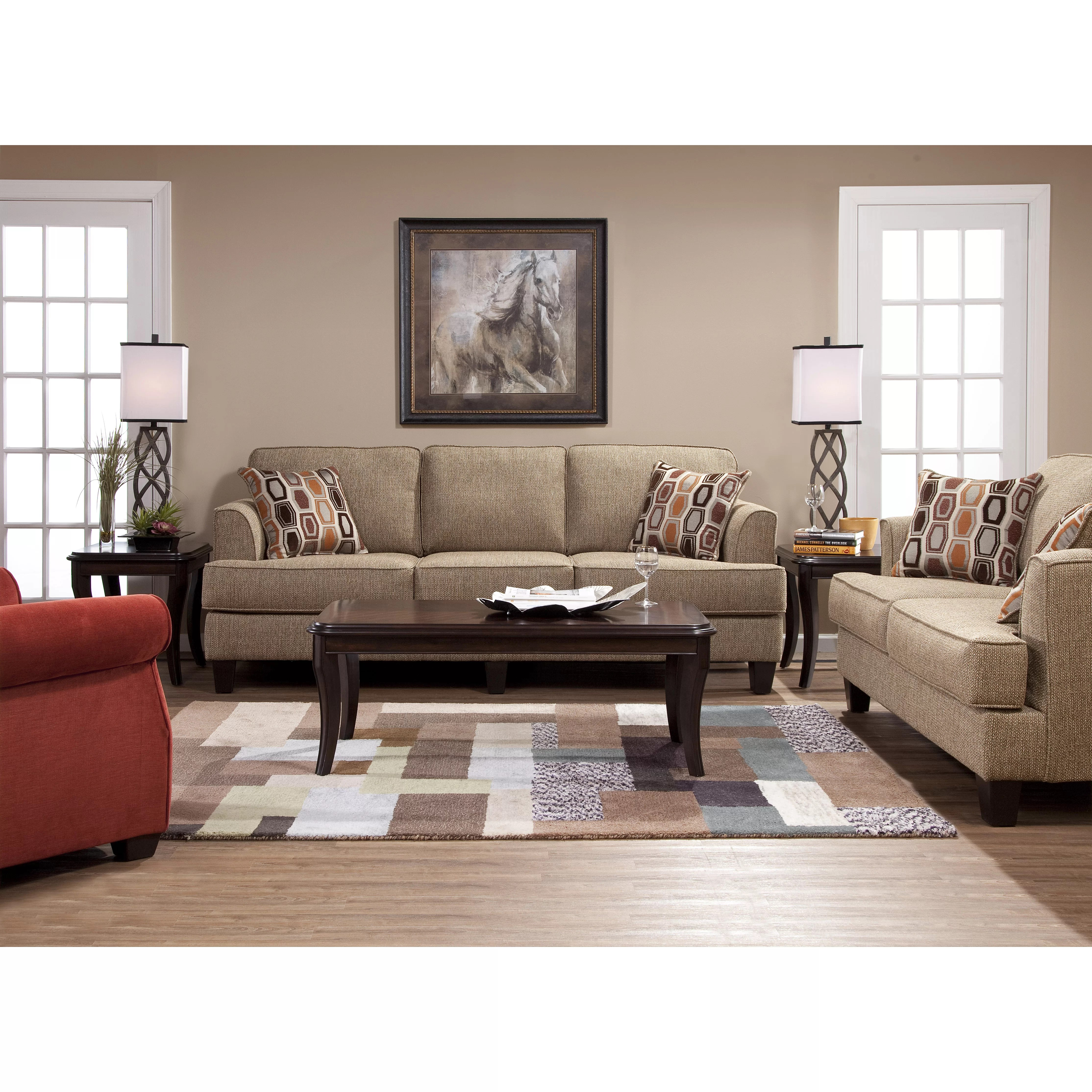 room sofa images baxton studio callidora brown leather sectional red barrel serta upholstery dallas living