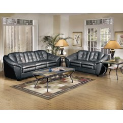 Serta Bonded Leather Convertible Sofa Spring Clip Repair Upholstery Living Room Collection And Reviews Wayfair