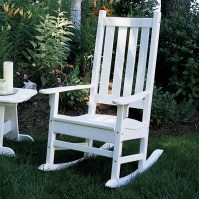 Seaside Casual Porch Rocking Chair - EnviroWood & Reviews ...
