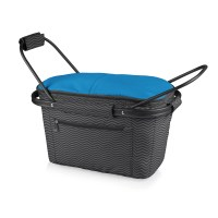 Picnic Time Waves Market Basket Collapsible Tote | Wayfair