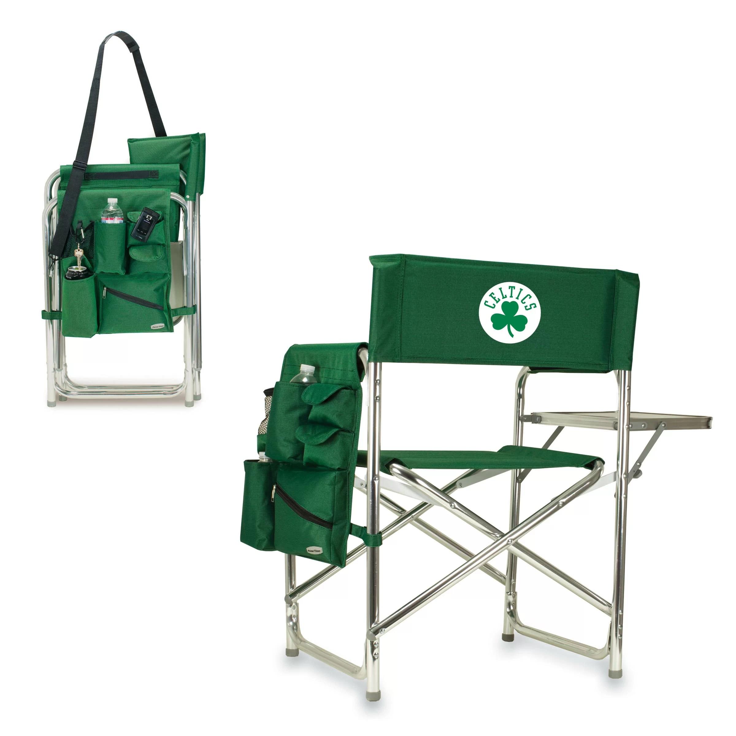 Picnic Time NBA Boston Celtics Sports Chair  Wayfair