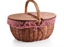 Picnic Time Country Picnic Basket & Reviews | Wayfair