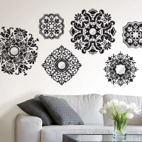 WallPops! WallPops Kits 6 Piece Baroque Wall Decal Set ...