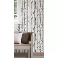 WallPops! Birch Tree Peel And Stick Wallpaper & Reviews ...