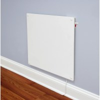 EcoHeater 1,364 BTU Wall Mounted Electric Convection Panel ...