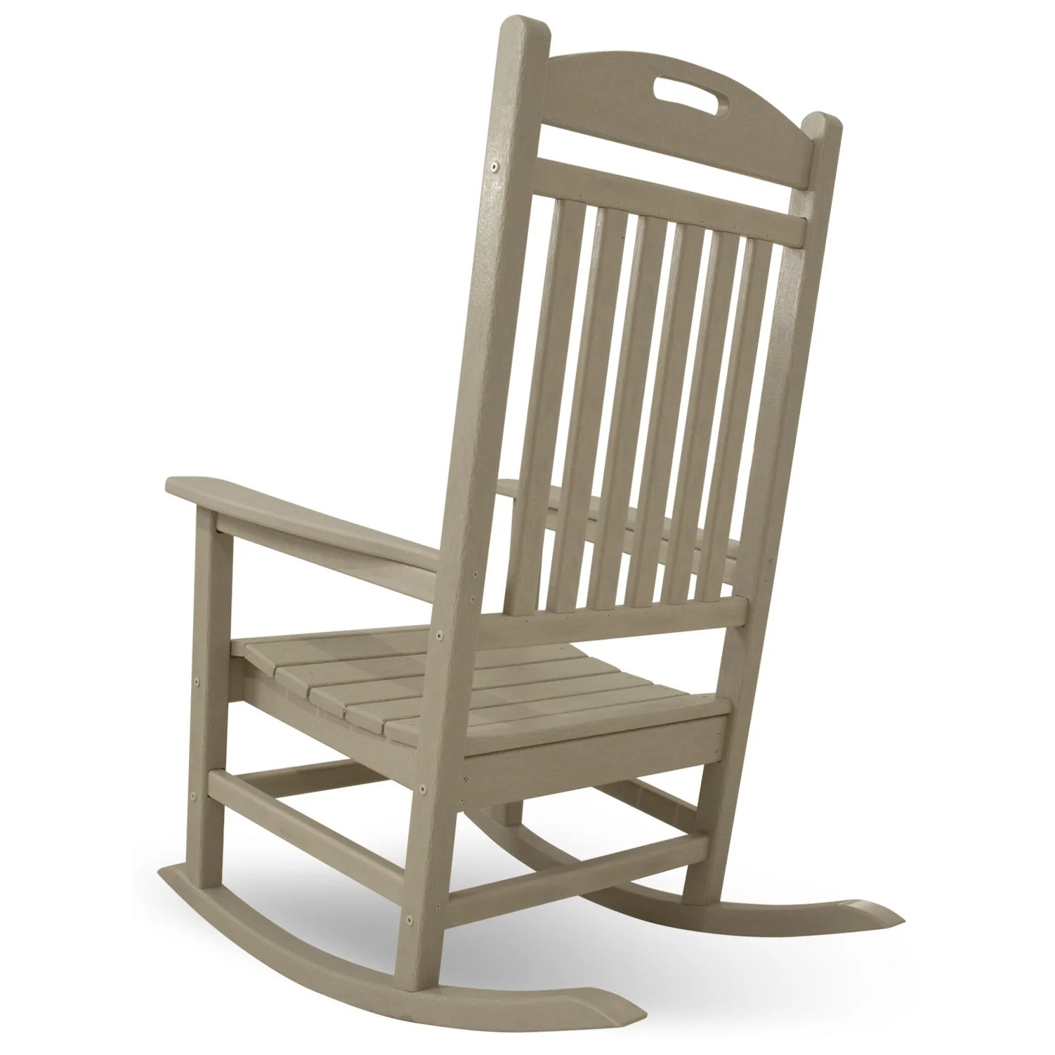 rocking chairs for nursery under 100 chair cradle combo polywood yacht club and reviews wayfair