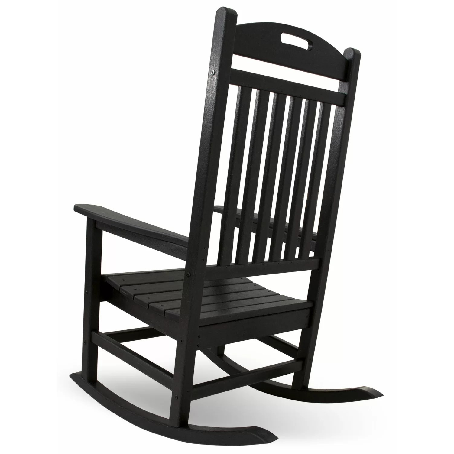 Trex Rocking Chairs Polywood Yacht Club Rocking Chair And Reviews Wayfair