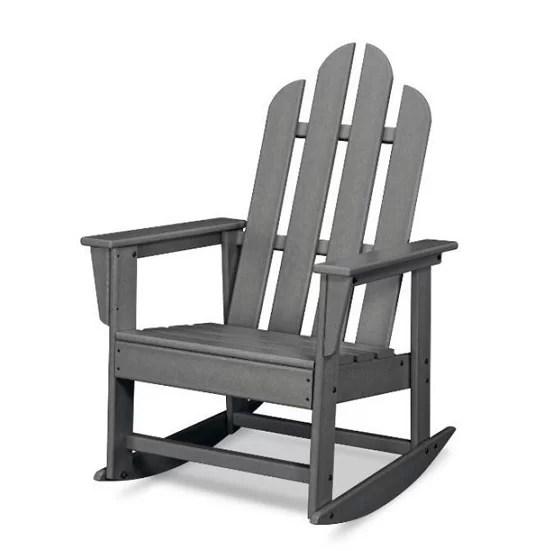 POLYWOOD Long Island Adirondack Rocking Chair & Reviews