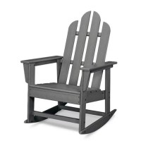 POLYWOOD Long Island Adirondack Rocking Chair & Reviews ...