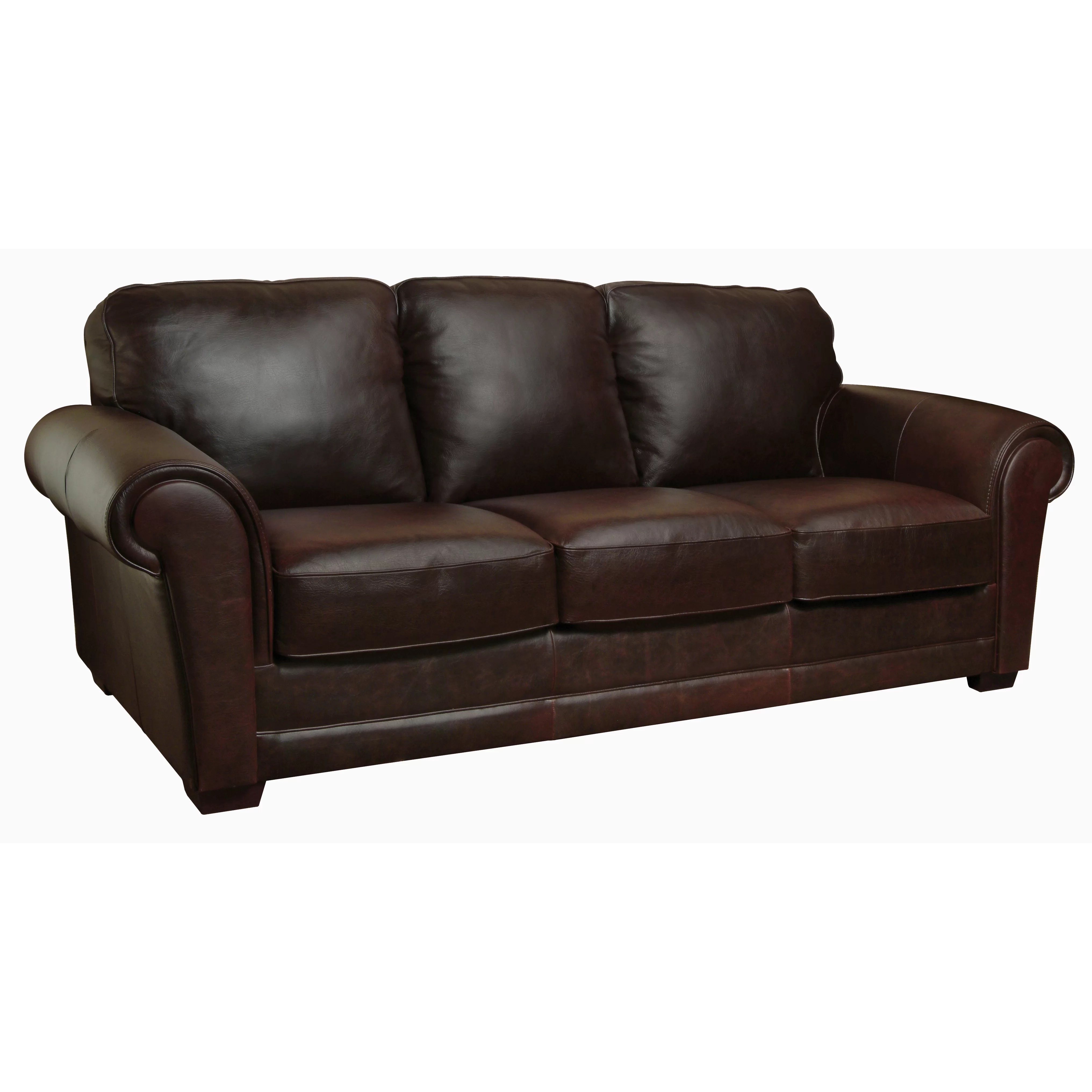 Luke Leather Mark Leather Living Room Collection & Reviews